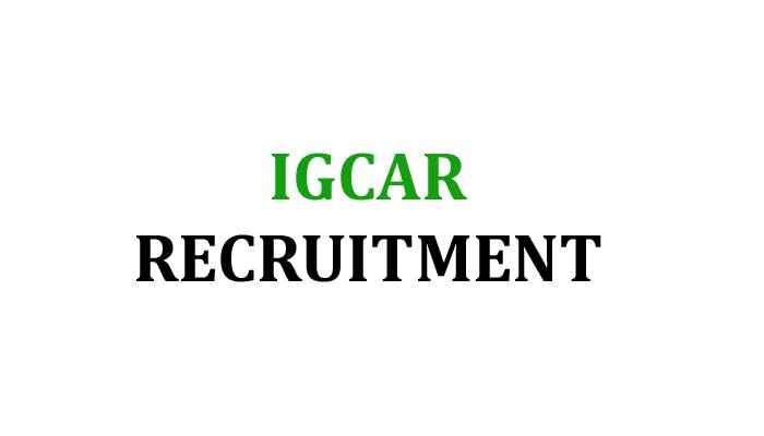 IGCARRecruitment