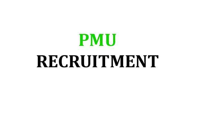 PMU Recruitment