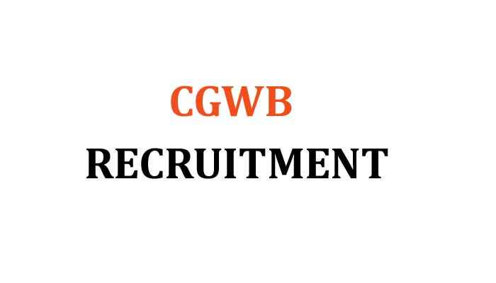 CGWB Recruitment