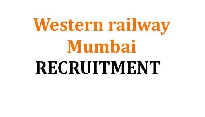 Western railway BhartiDetails