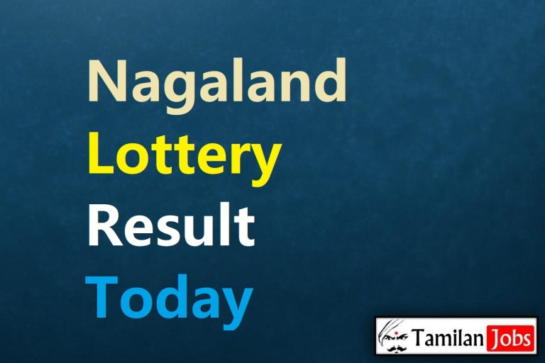 Nagaland State Lottery Result Live Today 27.2.2021, 4 PM, Day, Evening