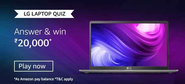 Amazon LG Laptops Quiz Answers Win 20,000
