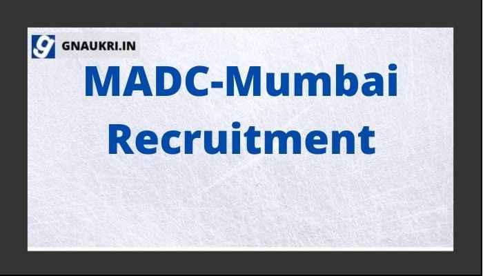 MADC-Mumbai Recruitment