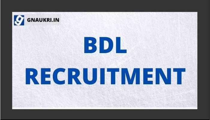 BDL RECRUITMENT